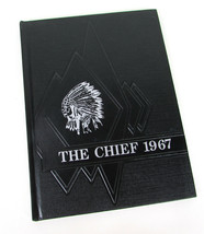 "Vintage 1967 The Chief "" INDEPENDENCE KANSAS "" Junior High School Yearbook - $19.10"