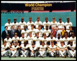 MLB 1979 World Champion Pittsburgh Pirates Team Picture Color 8 X 10 Photo Pic - $5.99