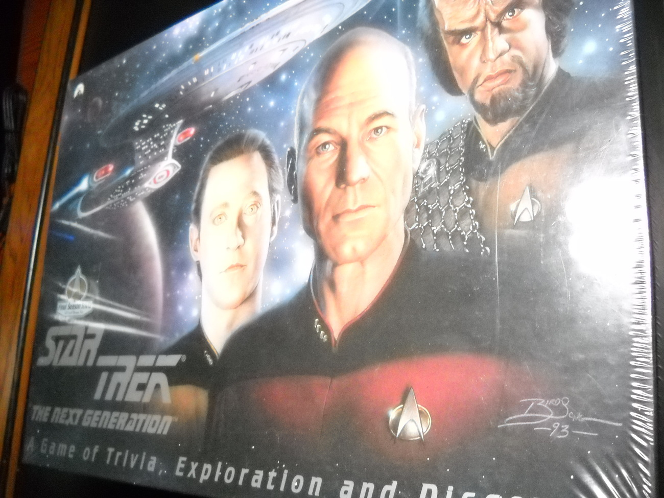 Star Trek The Next Generation Game 1993 Still Factory Sealed Classic Games