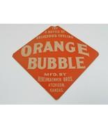 Orange Bubble Hekelnkaemper Soda Advertising Drink Sign Kansas Vintage 1... - $48.37