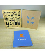 Fantastic Mid Century Modern Eames Designs Rubber 20pc Stamp Kit • NEW B... - $75.00