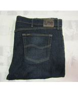 Lee Classic Fit Straight Leg 42 X 30 Mens Blue Jeans Cone Denim NOS NWT ... - $34.99