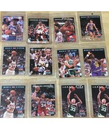 12 NBA vintage collectors cards, Bird, Barkley in protective sleeves fro... - $10.00