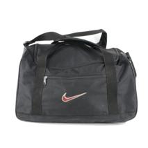 Vintage 90s Nike Big Swoosh Logo Carry On Duffel Bag Gym Bag Weekender B... - $34.60