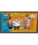 2004 Family Guy Freakin Sweet Bendables Set New In The Box - $49.99