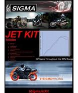Sachs eXpress 150 cc 6 Sigma Custom Mods Carburetor Carb Stage 1-3 Jet Kit - $39.50