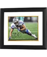 Cole Beasley signed Dallas Cowboys 8X10 Photo Custom Framed (horizontal)... - $94.95