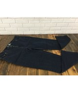 Jeans Dark Blue Wash Charter Club Woman 16W  Classic Straight Leg - $15.88