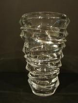 Modern Braginsky Crystal Slice Vase by Nachtmann  image 2