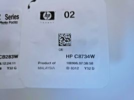 Genuine HP 02 Ink Cartridge Photo Value Pack C8733W C8734W C8732W CB283W image 5