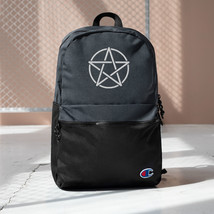 Gothic Backpack, Champion Backpack, Pentagram, Star, Witch, Horror, Curs... - $63.95