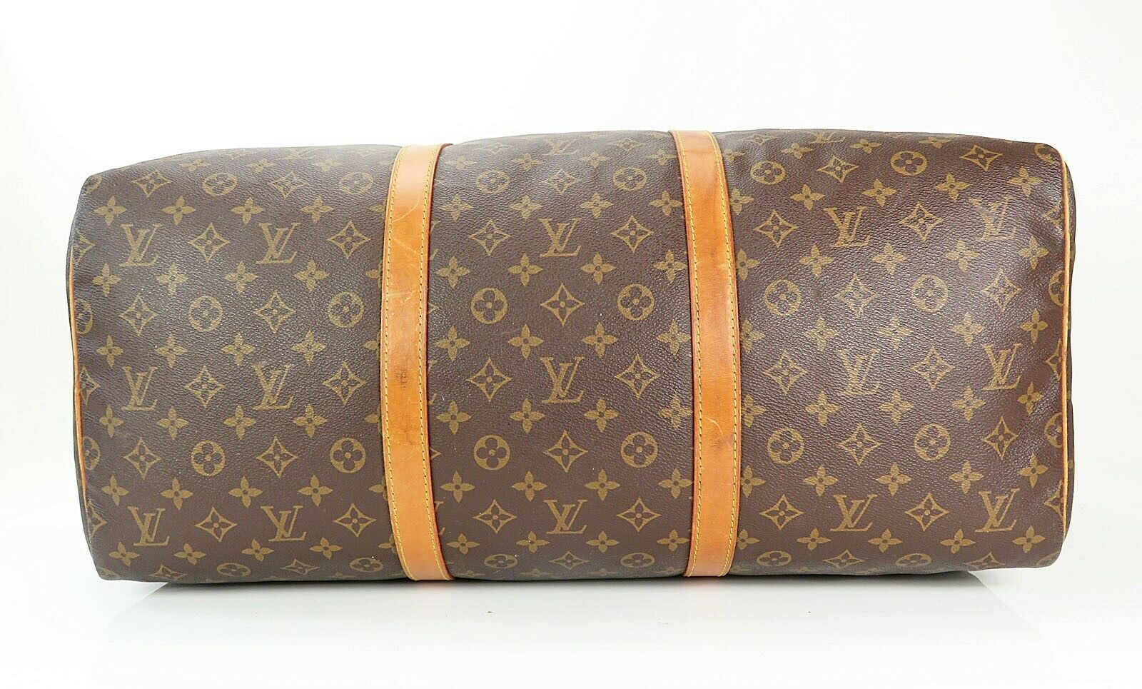 Authentic LOUIS VUITTON Sac Souple 55 Monogram Tote Duffle Bag #34978 image 5
