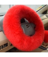 """Car Steering Wheel Cover Wool Warm Plush Winter for 14.96"""" X 14.96"""" - $17.99"""