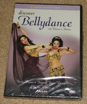 NEW & SEALED DVD - Discover Bellydance With Veena & Neena - 3 DVD Set - $14.99