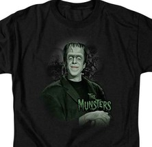The Munsters Herman t-shirt Fred Gwynne Retro 60's TV graphic tee NBC101 image 2