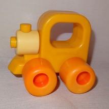 Vintage Train Engine Baby Rattle Wee Wheels Playskool 1984 3 Month 2 Years Toy - $9.46