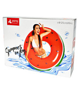 JiLong Jumbo Watermelon Float Ring 43 X 43 x 11 Inches - $9.39