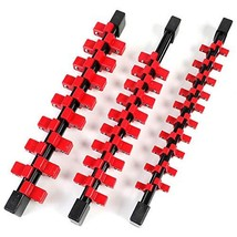 "Lucky Monet 9Pcs Double Sided ABS Socket Organizer 1/4"" 3/8"" 1/2"" Mounta... - €37,22 EUR"