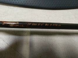 "fenwick Iron Feather IF866 8'6"" #6 3 7/16 oz Fly Rod With Case - broken tip image 3"