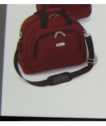 """KENNETH COLE """"DOUBLE TIME"""" SOFT TRANSPORT TOTE RED SOLID LIFETIME WARRAN... - $74.80"""