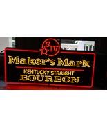 """Maker's Mark Bourbon Whisky Kentucky Beer Bar Neon Sign 25"""" x 18"""" - $699.00"""