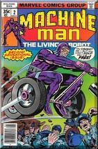 Machine Man #2 (1978) *Bronze Age / Marvel Comics / The Living Robot* - £3.21 GBP
