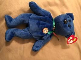 TY Dark Blue Clubby Bear MWMT - $4.41