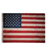 USA United States - 4' x 6' 4x6 ft embroidered Nylon Flag House Banner - £31.68 GBP