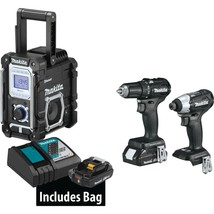 Makita Power Tool Combo Kit 18-Volt 3-Piece 2.0Ah LXT Lithium-Ion Cordless - $290.16