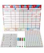 Kids Chore Chart for Multiple Kids - Magnetic Dry Erase Responsibility C... - $48.99
