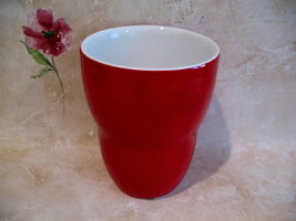 Starbucks Coffee Mug Cup Red by Aida 2008 Collector Souvenir Collectible - $14.99