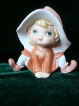 Homco Orange Elf Figurine 5213 - $6.99