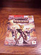 Ratchet Deadlocked Prima's Official Strategy Guide Book, with DVD for the PS2 - $10.95