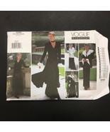 Vogue Wardrobe Edwardian Dress Pants Jacket Sewing Pattern 1290 Uncut 6 ... - $12.84