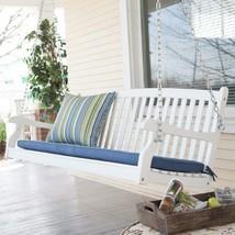 Garden Wood Swing Two Persons Durable Comfort Patio Yard Stylish Elegant... - $162.65