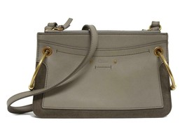 New Chloe Roy Small Leather & Suede Crossbody Bag - $782.04