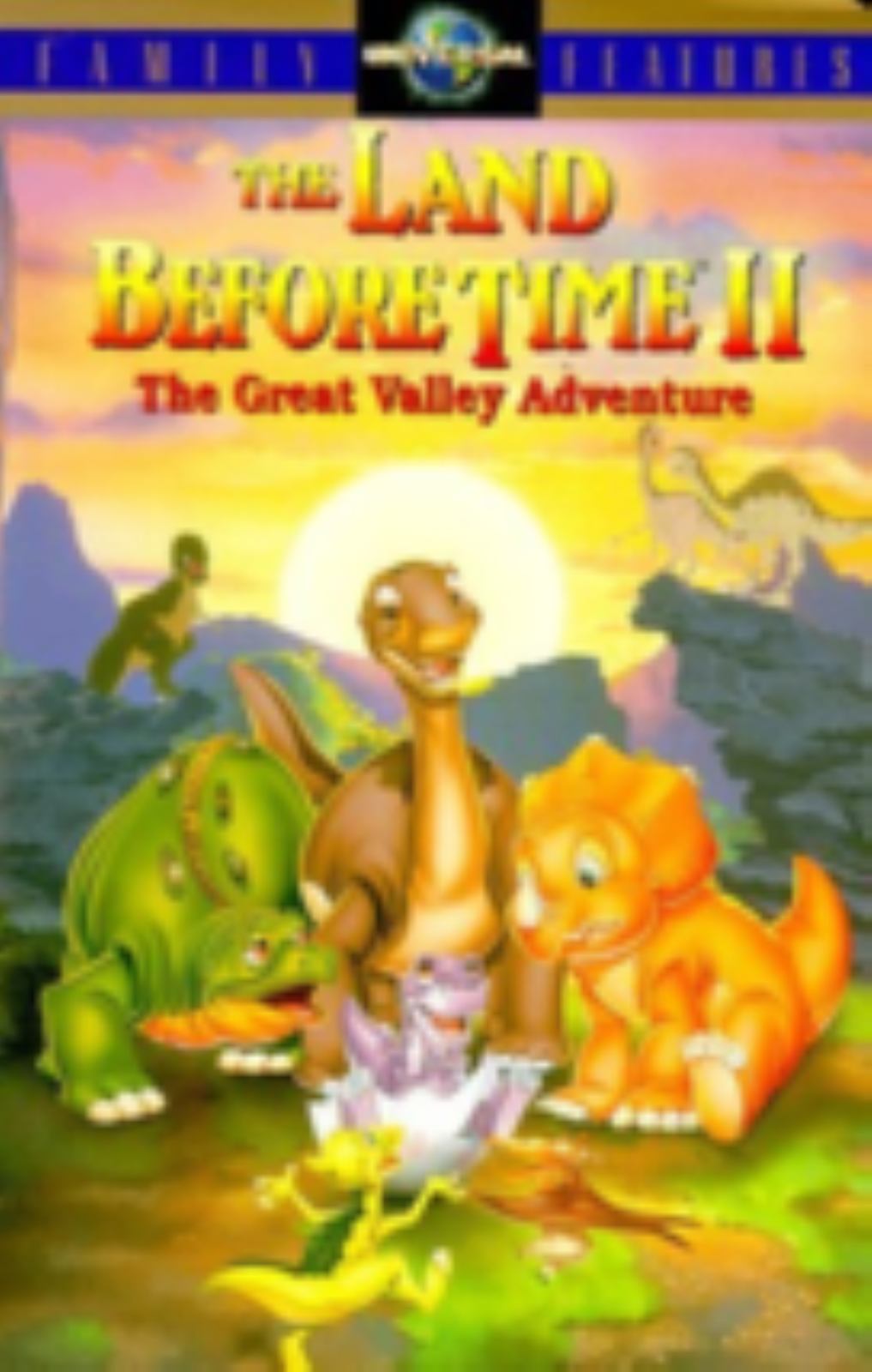 The Land Before Time II - The Great Valley Adventure Vhs