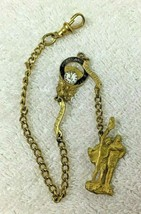 Vintage BPOE Portland 1912 Grand Reunion Pocket Watch Chain FOB T55 - $54.45