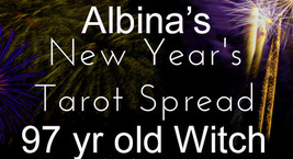 FULL YEAR AHEAD CELTIC CROSS TAROT READING FROM 97 YEAR OLD WITCH ALBINA Cassia4 - $29.89
