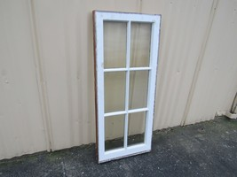 Handcrafted Antique Exterior True Divided Window Type G White 40in x 17i... - $81.51