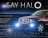 2004 2005 2006 2007 2008 2009 Dodge Durango Halo Fog Lights Angel Eye Driving Li