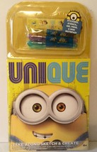 DESPICABLE ME UNIQUE TAKE ALONG SKETCH & CREATE With GEL PENS, STENCIL, ... - $4.93