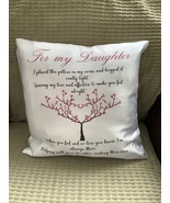 For My Daughter Cushion - $19.00