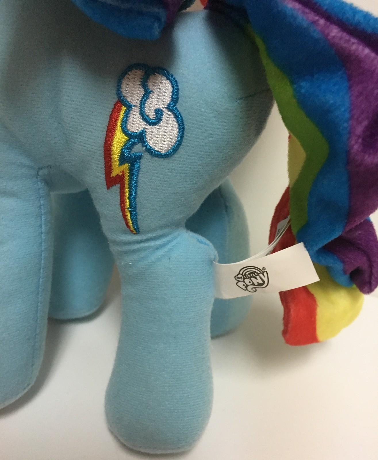 "My Little Pony 11"" Rainbow Dash NWT Plush"