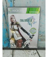 Final Fantasy XIII (Microsoft Xbox 360, 2010) Video Game  Complete 3 Disc's - $9.89