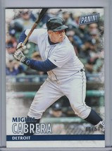 MIGUEL CABRERA 2016 Panini Black Friday Thick Stock #48/50 #17 (E3172) - $3.15