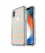 Otterbox Symmetry Hybrid Shockproof Case for iPhone XS, iPhone X transpa... - $55.82