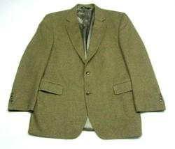 Jos. A. Bank Men's Camel Hair Blazer 43R Brown Two Button Sport Coat Bei... - $29.65
