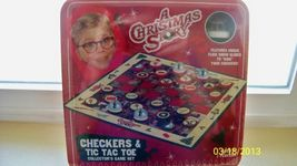 A CHRISTMAS STORY, Checkers & Tic Tac Toe Colle... - $27.00
