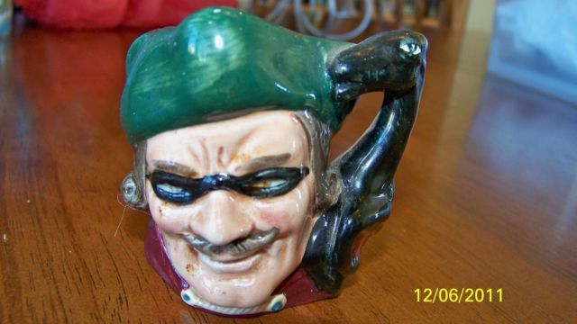 Royal Doulton England Dick Turpin Pirate Mug 1959 D6542